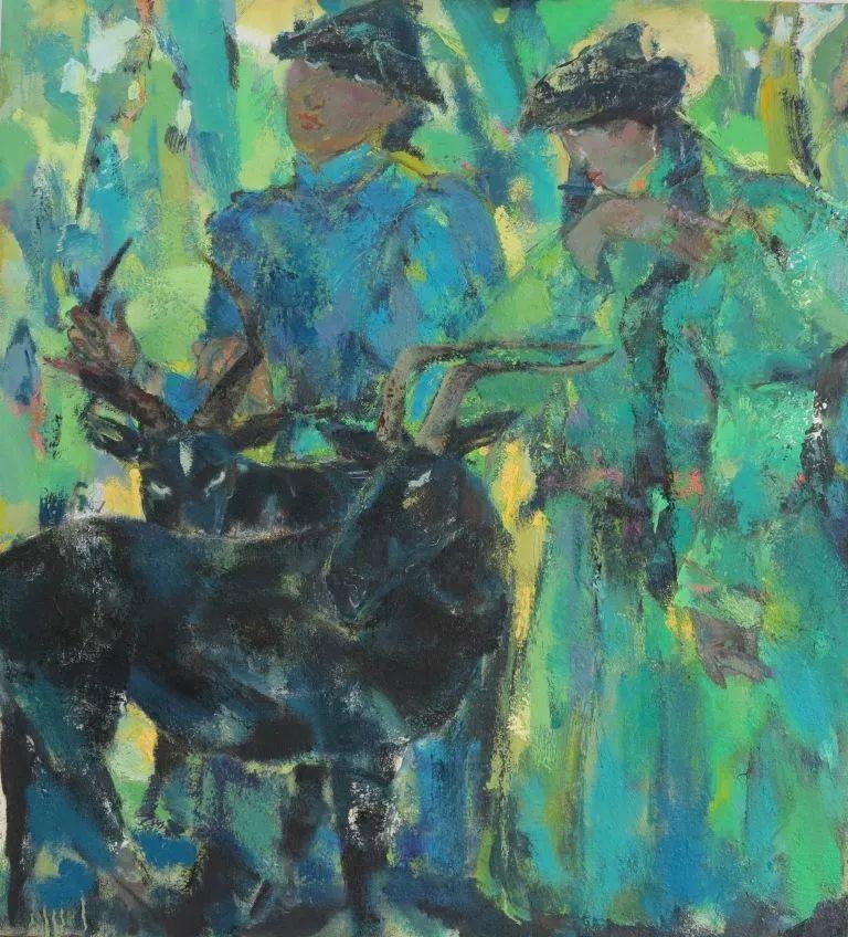 内蒙古当代美术家系列--乌吉斯古楞 第17张