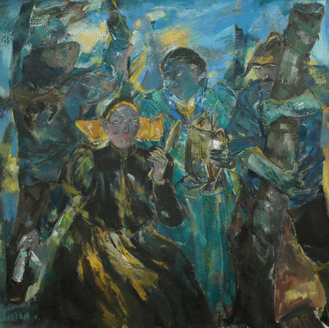 内蒙古当代美术家系列--乌吉斯古楞 第26张
