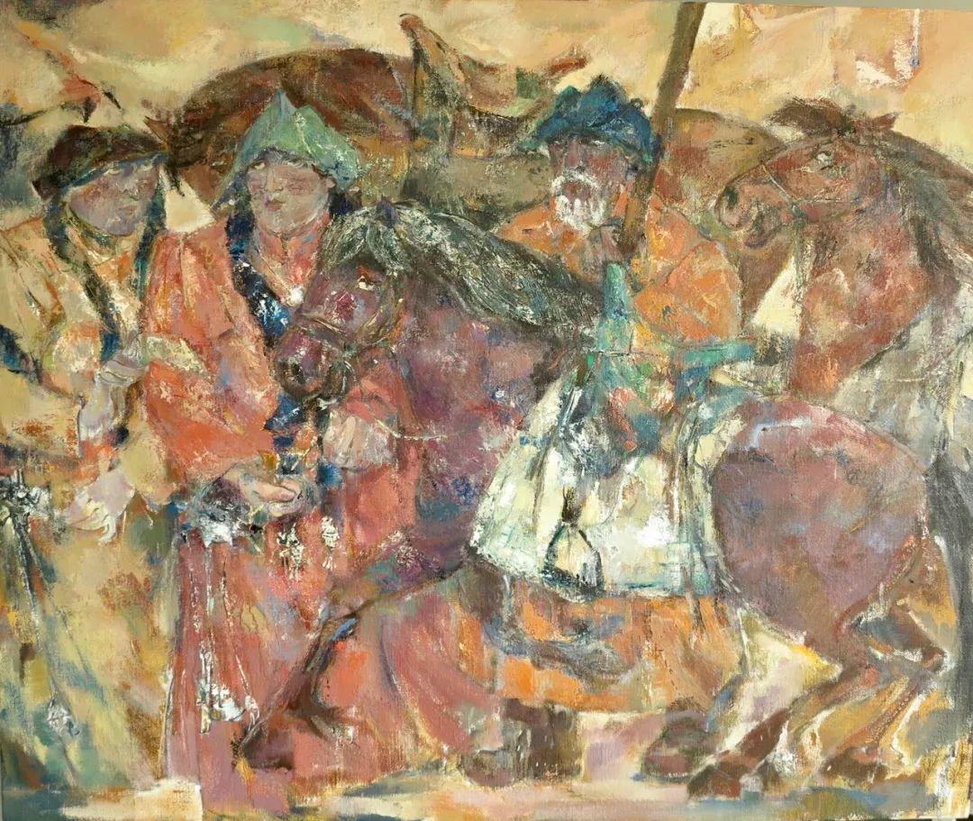 内蒙古当代美术家系列--乌吉斯古楞 第30张