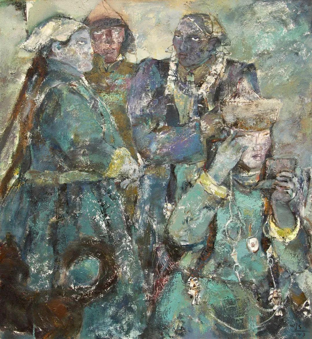 内蒙古当代美术家系列--乌吉斯古楞 第31张