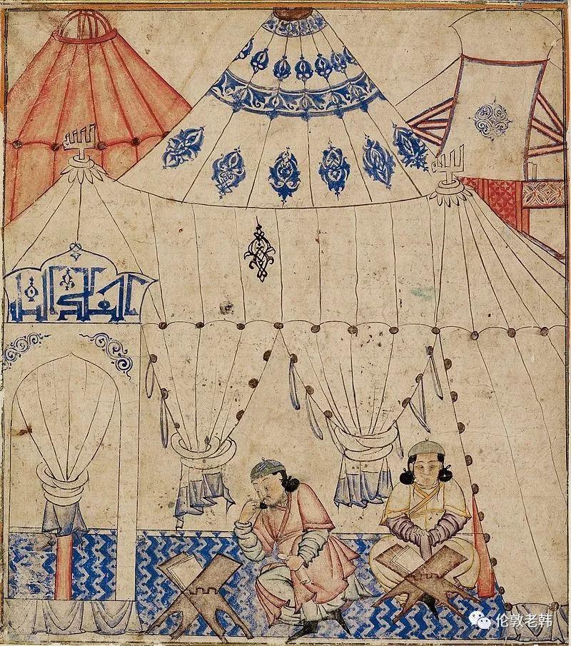 蒙古往事:伊尔汗国的蒙古袍 第4张 蒙古往事:伊尔汗国的蒙古袍 蒙古文化