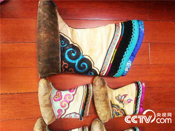 【传统文化】巴尔虎靴子(蒙古文) 第12张 【传统文化】巴尔虎靴子(蒙古文) 蒙古文化
