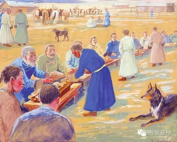 布里亚特女孩子出嫁前的一趟庄严必修课 第3张 布里亚特女孩子出嫁前的一趟庄严必修课 蒙古文化