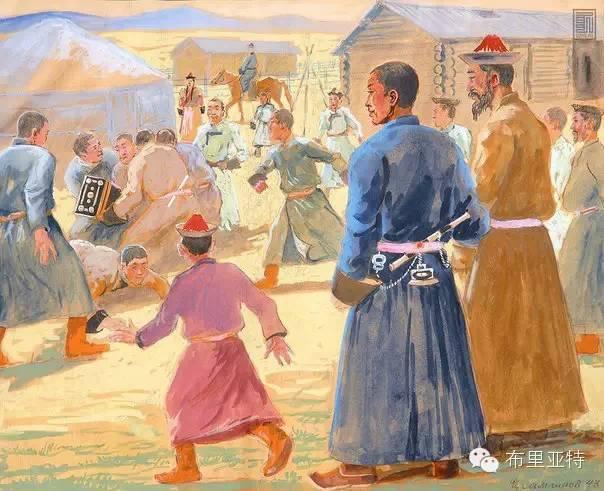 布里亚特女孩子出嫁前的一趟庄严必修课 第4张 布里亚特女孩子出嫁前的一趟庄严必修课 蒙古文化