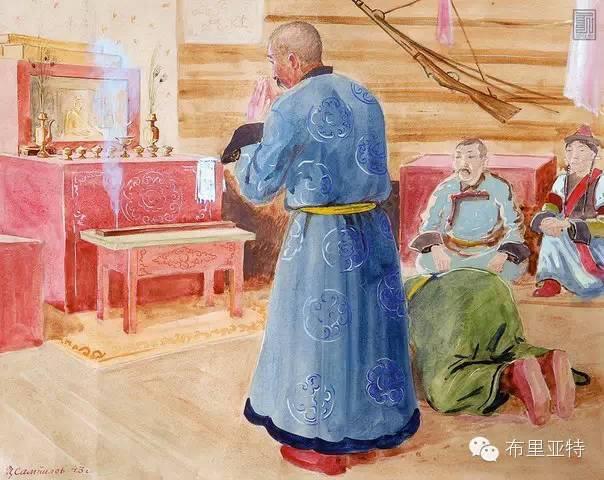 布里亚特女孩子出嫁前的一趟庄严必修课 第8张 布里亚特女孩子出嫁前的一趟庄严必修课 蒙古文化