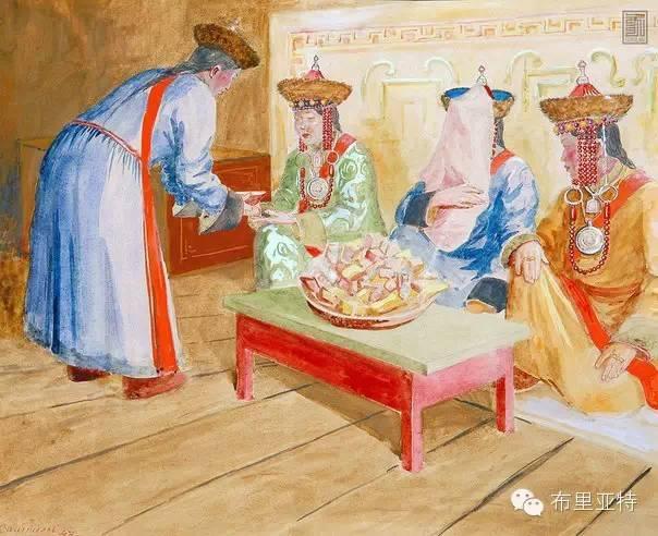 布里亚特女孩子出嫁前的一趟庄严必修课 第9张 布里亚特女孩子出嫁前的一趟庄严必修课 蒙古文化