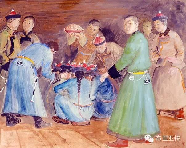 布里亚特女孩子出嫁前的一趟庄严必修课 第7张 布里亚特女孩子出嫁前的一趟庄严必修课 蒙古文化