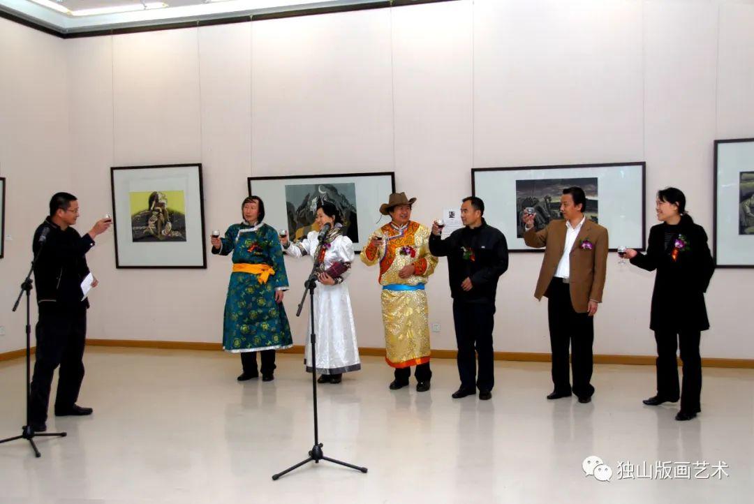 扎鲁特版画概略 第19张 扎鲁特版画概略 蒙古画廊