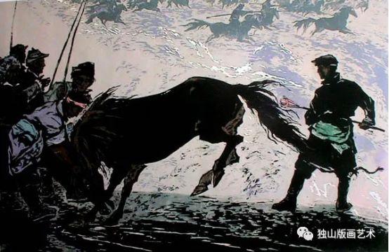 扎鲁特版画概略 第43张 扎鲁特版画概略 蒙古画廊