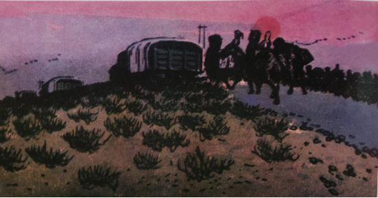 扎鲁特版画概略 第41张 扎鲁特版画概略 蒙古画廊