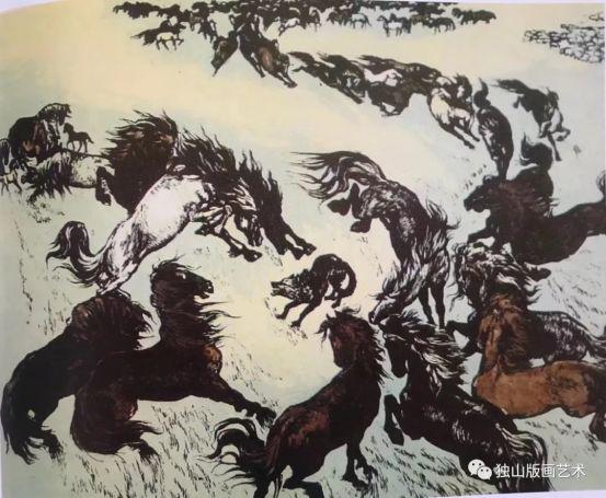 扎鲁特版画概略 第57张 扎鲁特版画概略 蒙古画廊