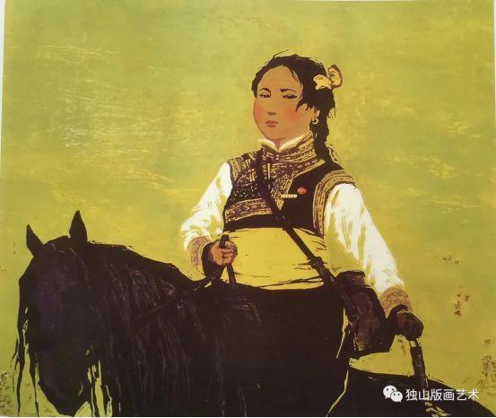 扎鲁特版画概略 第64张 扎鲁特版画概略 蒙古画廊