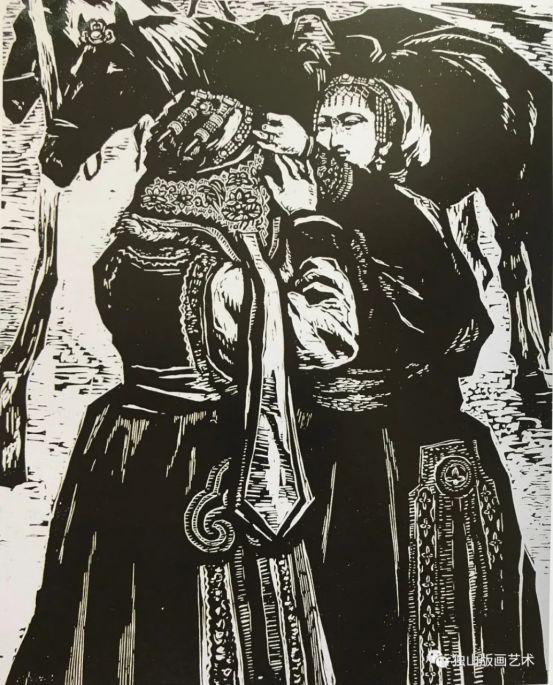 扎鲁特版画概略 第66张 扎鲁特版画概略 蒙古画廊