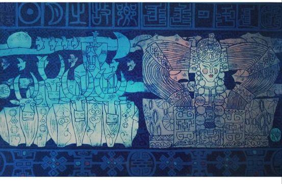 扎鲁特版画概略 第83张 扎鲁特版画概略 蒙古画廊