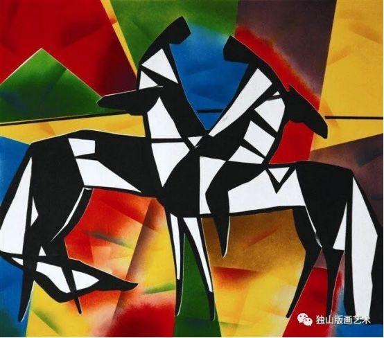 扎鲁特版画概略 第85张 扎鲁特版画概略 蒙古画廊