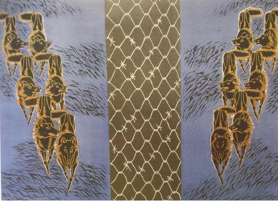扎鲁特版画概略 第106张 扎鲁特版画概略 蒙古画廊