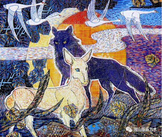扎鲁特版画概略 第107张 扎鲁特版画概略 蒙古画廊