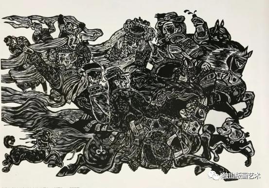 扎鲁特版画概略 第108张 扎鲁特版画概略 蒙古画廊