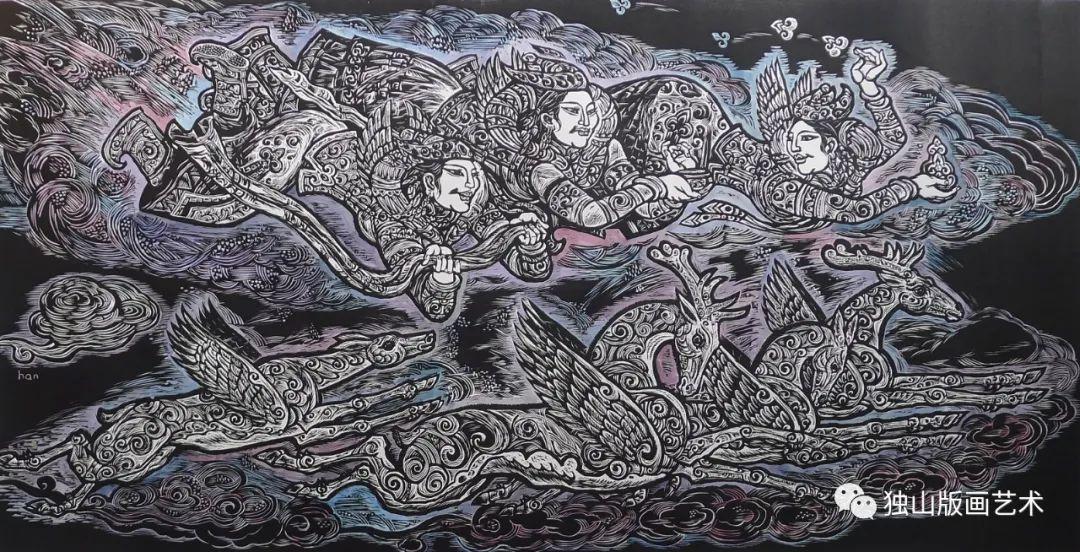 扎鲁特版画概略 第111张 扎鲁特版画概略 蒙古画廊