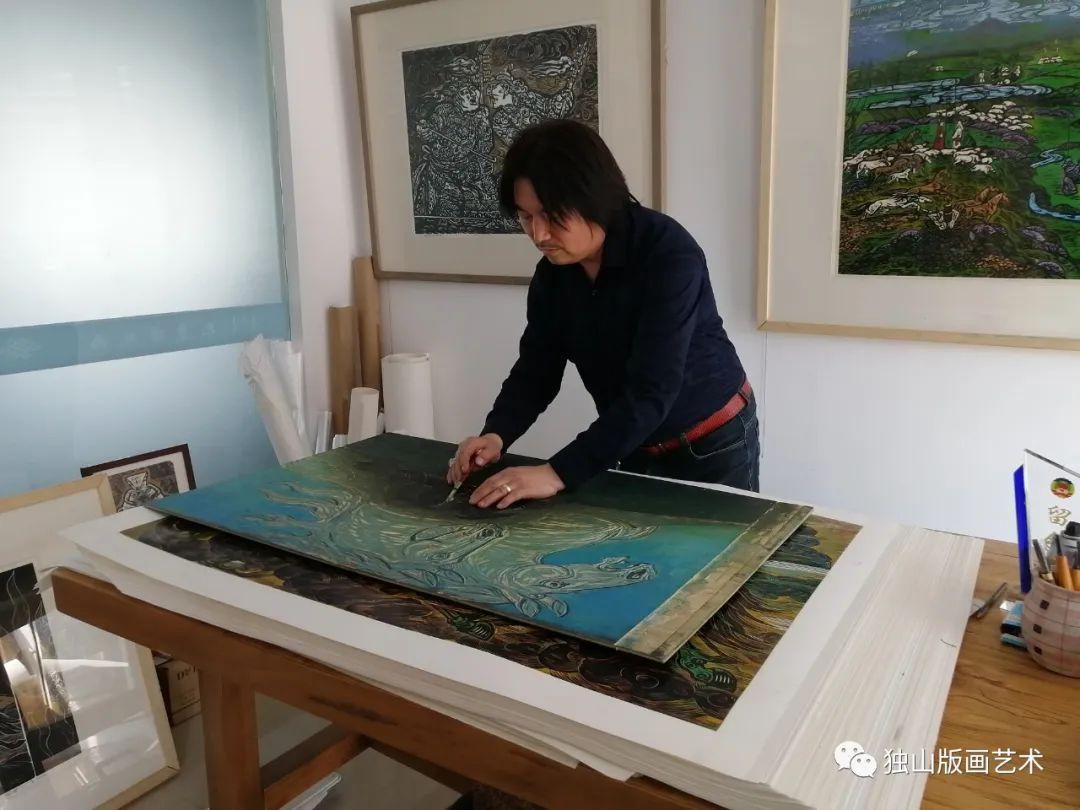 扎鲁特版画概略 第110张 扎鲁特版画概略 蒙古画廊