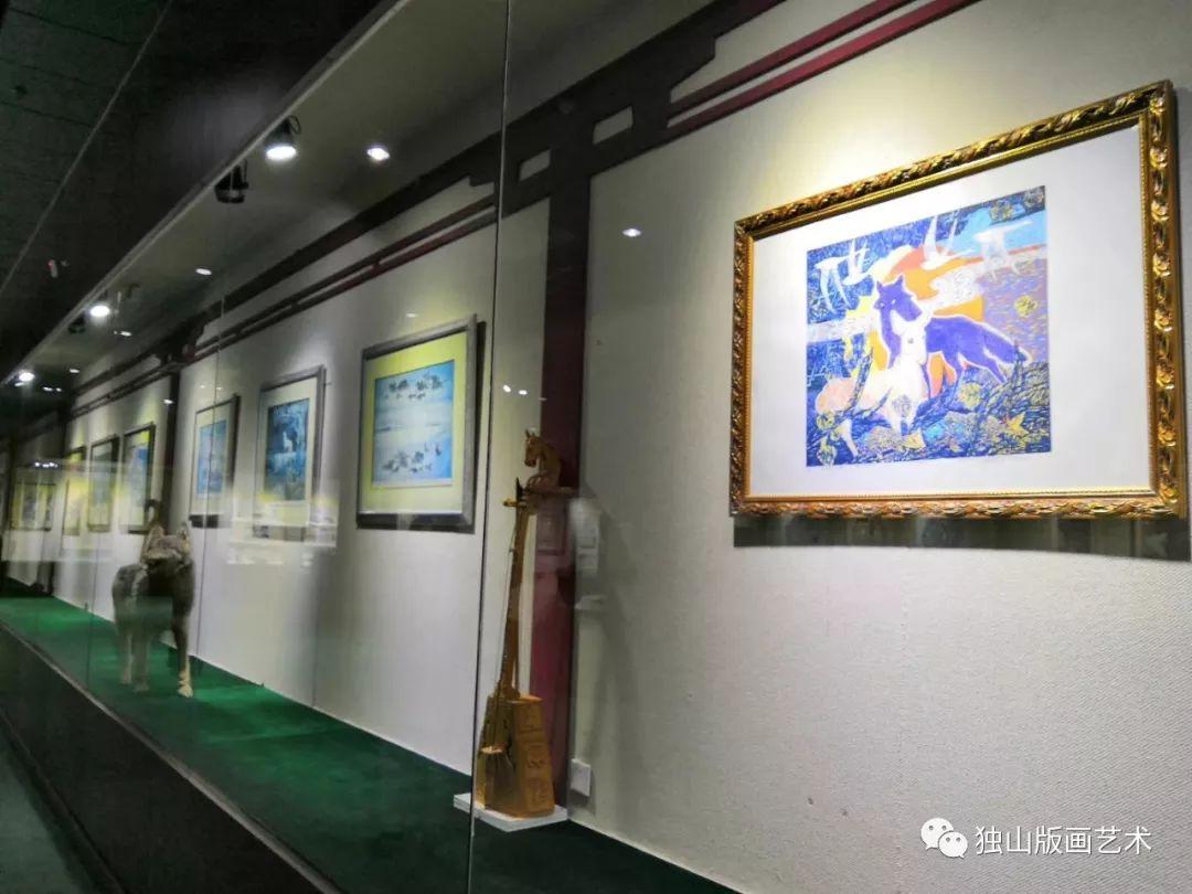 扎鲁特版画概略 第125张 扎鲁特版画概略 蒙古画廊