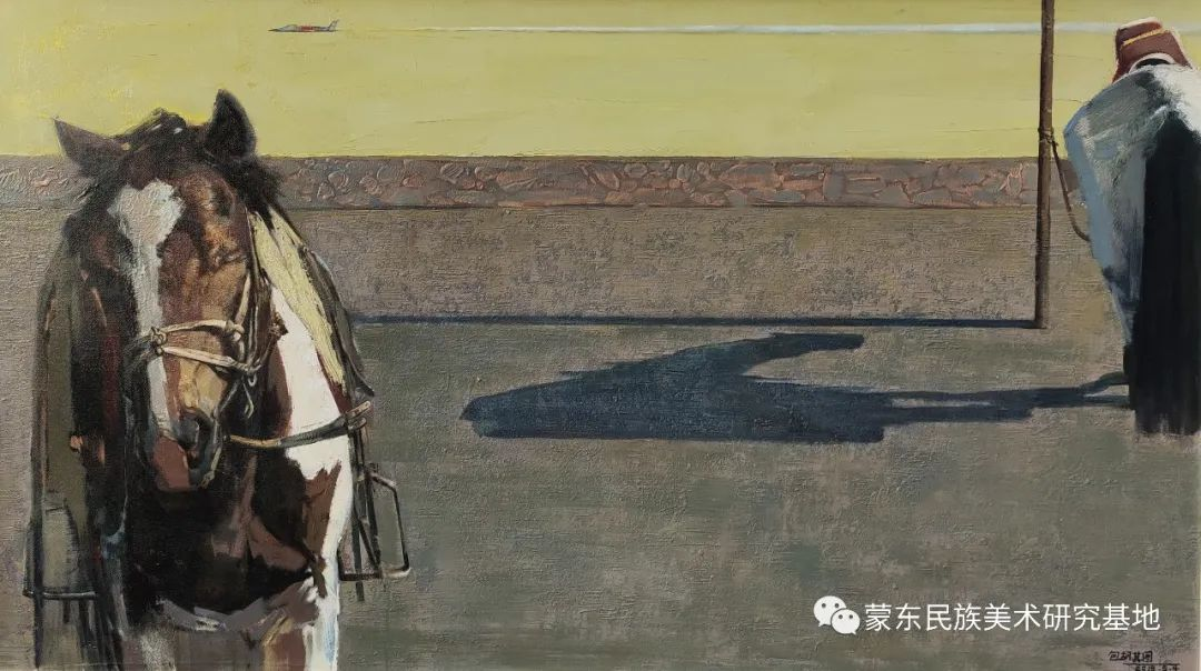 包胡其图油画作品——中国少数民族美术促进会,蒙东民族美术研究基地画家系列 第4张 包胡其图油画作品——中国少数民族美术促进会,蒙东民族美术研究基地画家系列 蒙古画廊