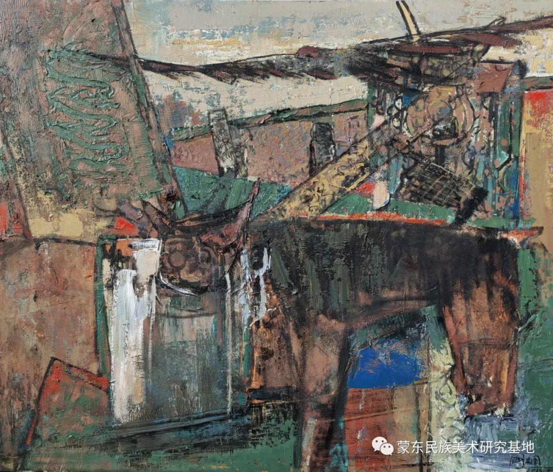 包胡其图油画作品——中国少数民族美术促进会,蒙东民族美术研究基地画家系列 第3张 包胡其图油画作品——中国少数民族美术促进会,蒙东民族美术研究基地画家系列 蒙古画廊
