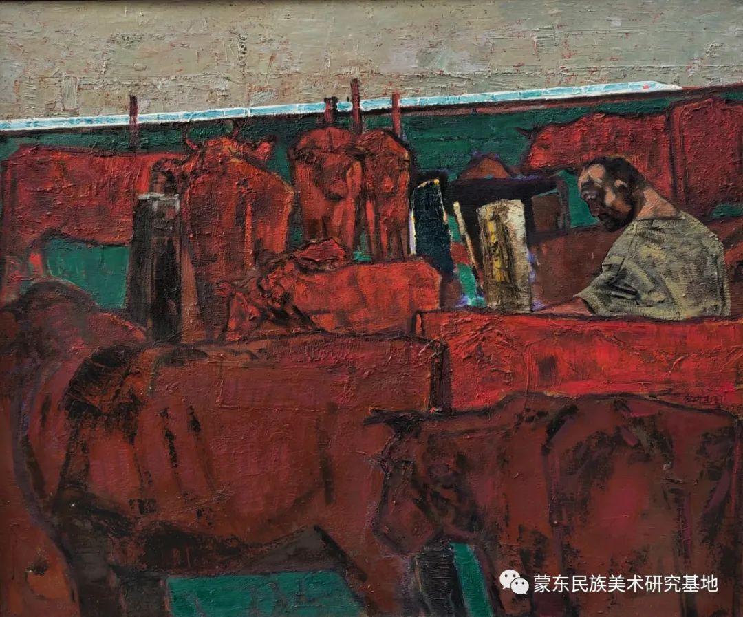 包胡其图油画作品——中国少数民族美术促进会,蒙东民族美术研究基地画家系列 第8张 包胡其图油画作品——中国少数民族美术促进会,蒙东民族美术研究基地画家系列 蒙古画廊