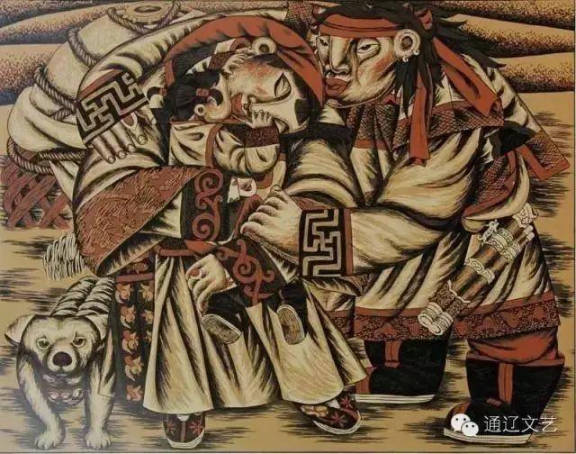 版画之乡  奇葩绽放 第11张 版画之乡  奇葩绽放 蒙古画廊