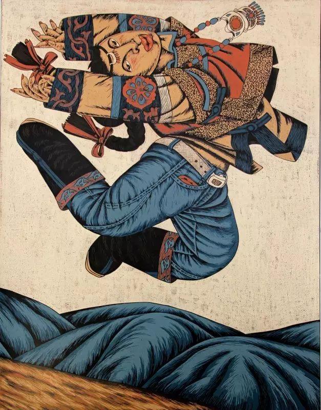 版画之乡  奇葩绽放 第13张 版画之乡  奇葩绽放 蒙古画廊