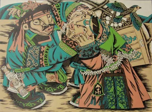 版画之乡  奇葩绽放 第19张 版画之乡  奇葩绽放 蒙古画廊