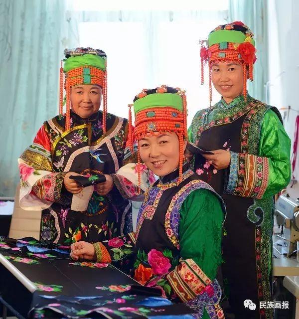 色彩|翁牛特旗蒙古族刺绣 第6张