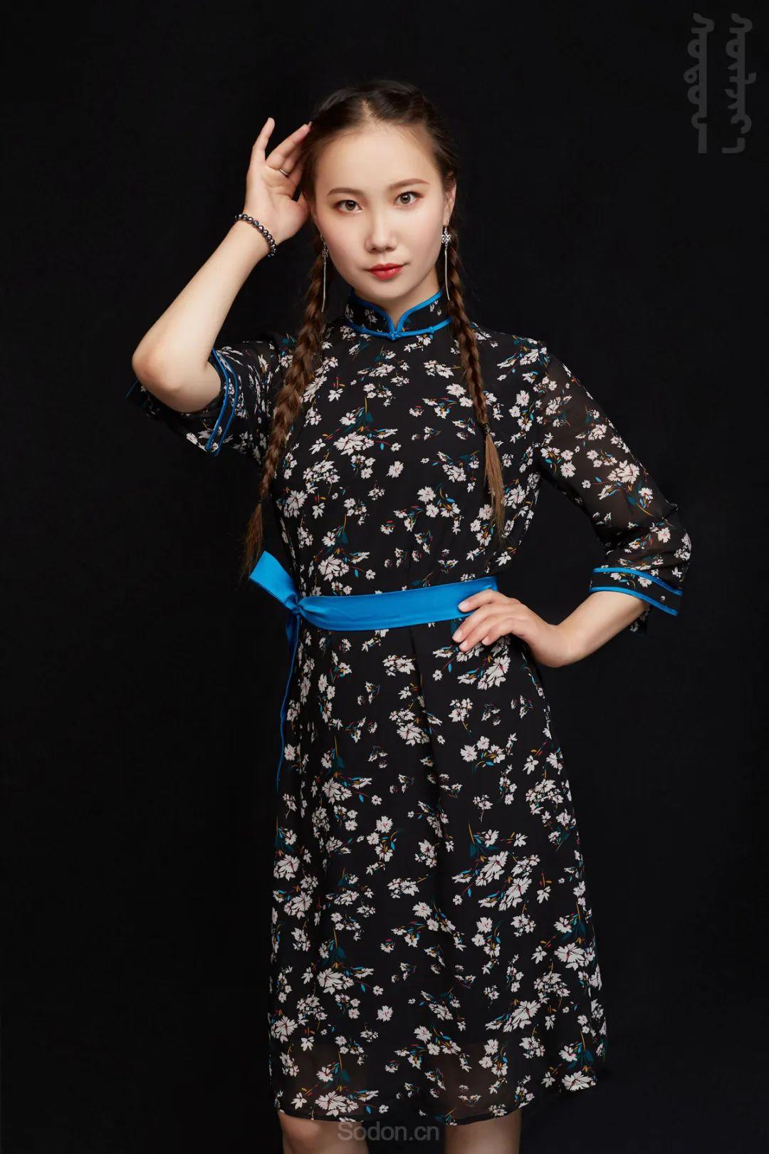 DOMOG蒙古时装2020新款夏季连衣裙首发,618钜惠七折! 第4张
