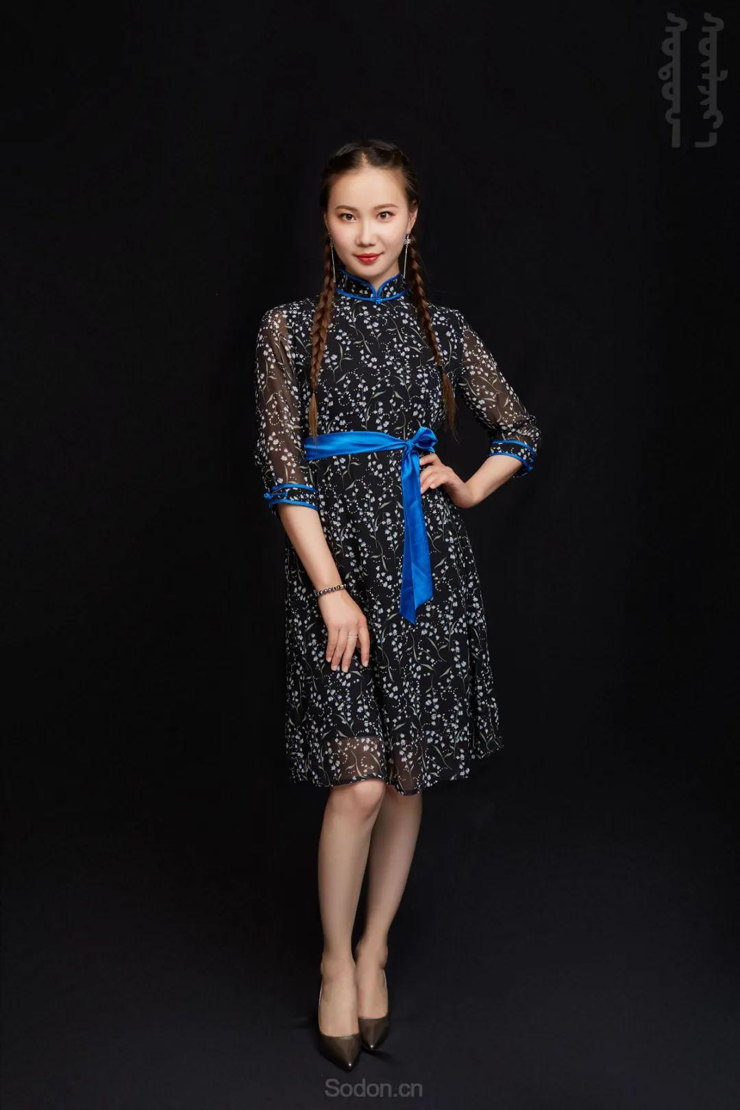 DOMOG蒙古时装2020新款夏季连衣裙首发,618钜惠七折! 第7张