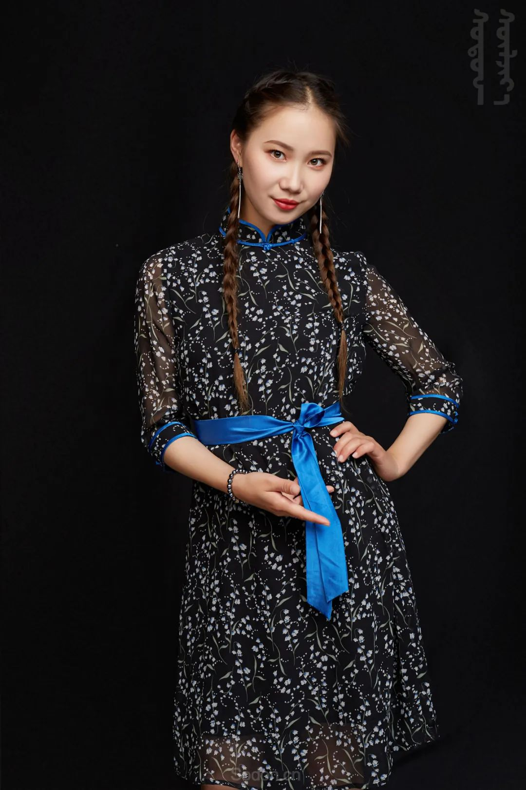 DOMOG蒙古时装2020新款夏季连衣裙首发,618钜惠七折! 第8张