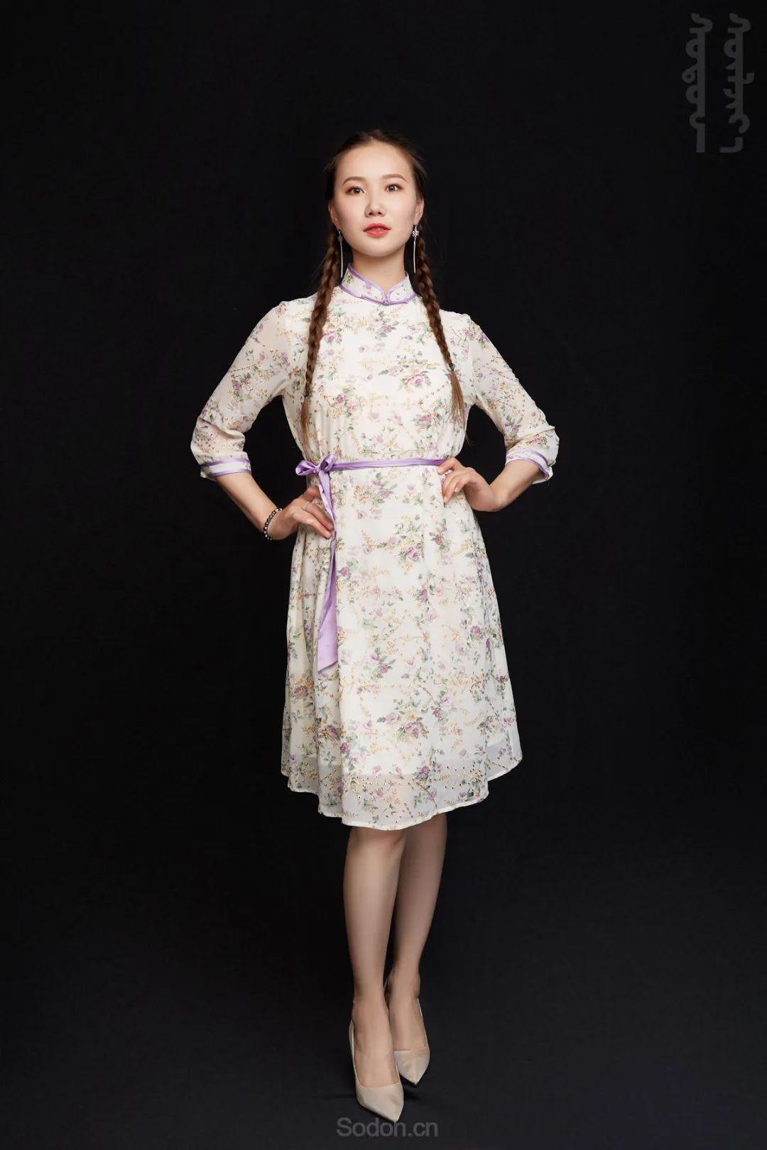 DOMOG蒙古时装2020新款夏季连衣裙首发,618钜惠七折! 第10张