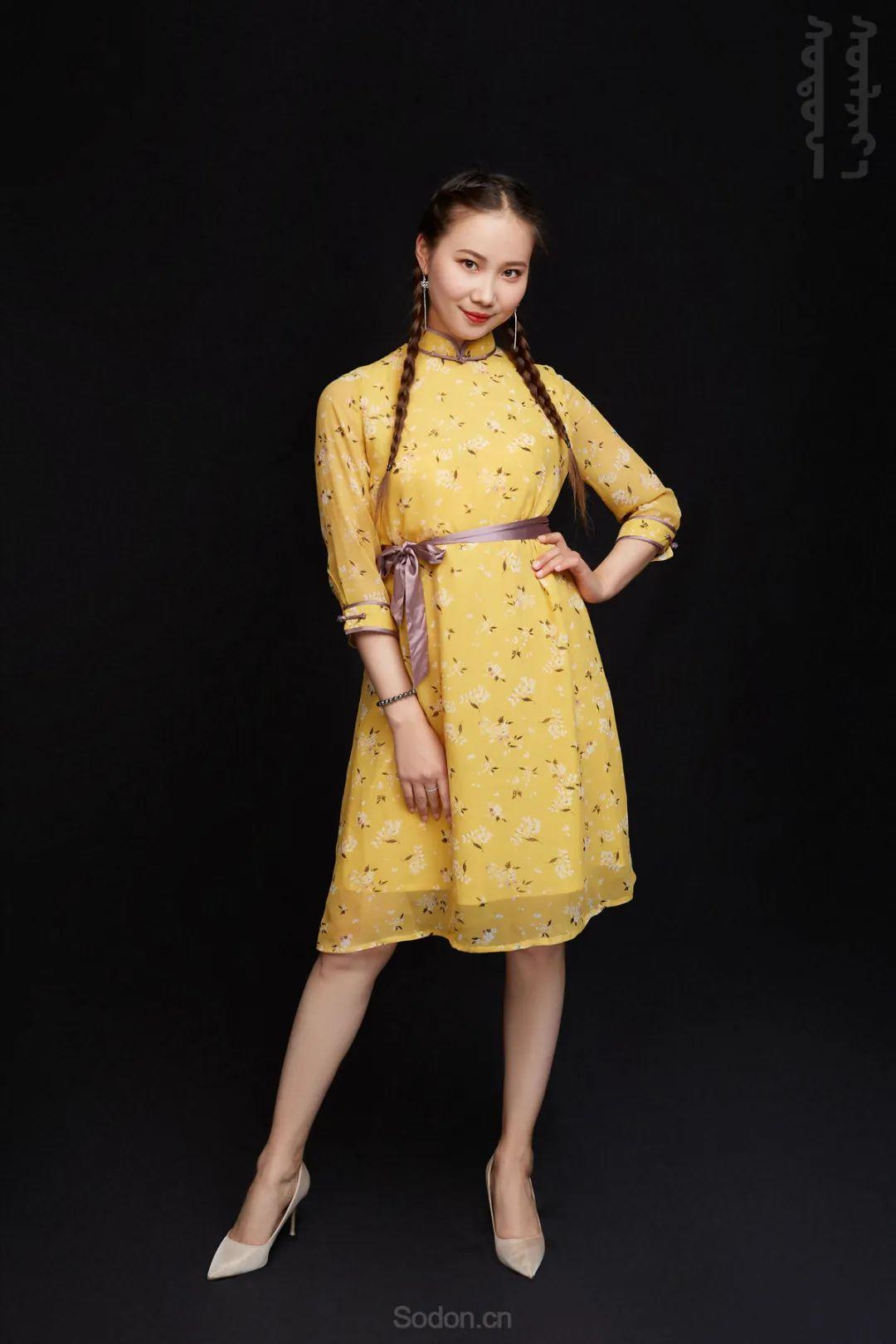 DOMOG蒙古时装2020新款夏季连衣裙首发,618钜惠七折! 第12张