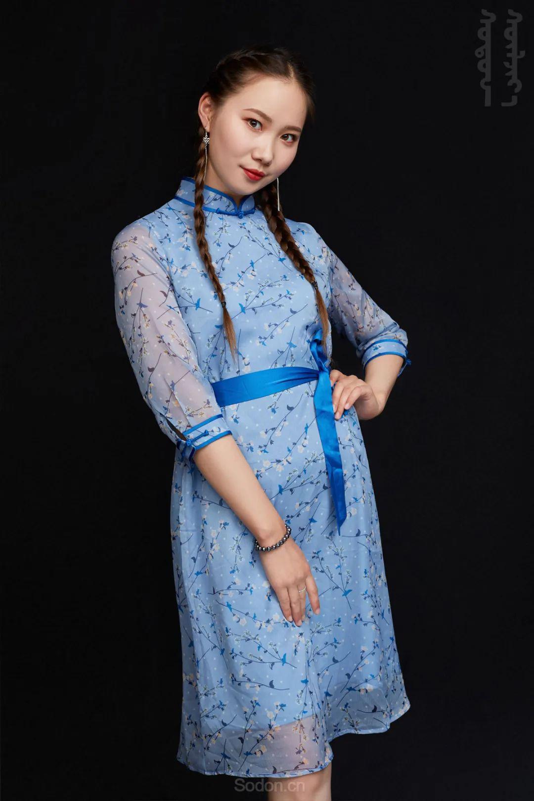 DOMOG蒙古时装2020新款夏季连衣裙首发,618钜惠七折! 第11张
