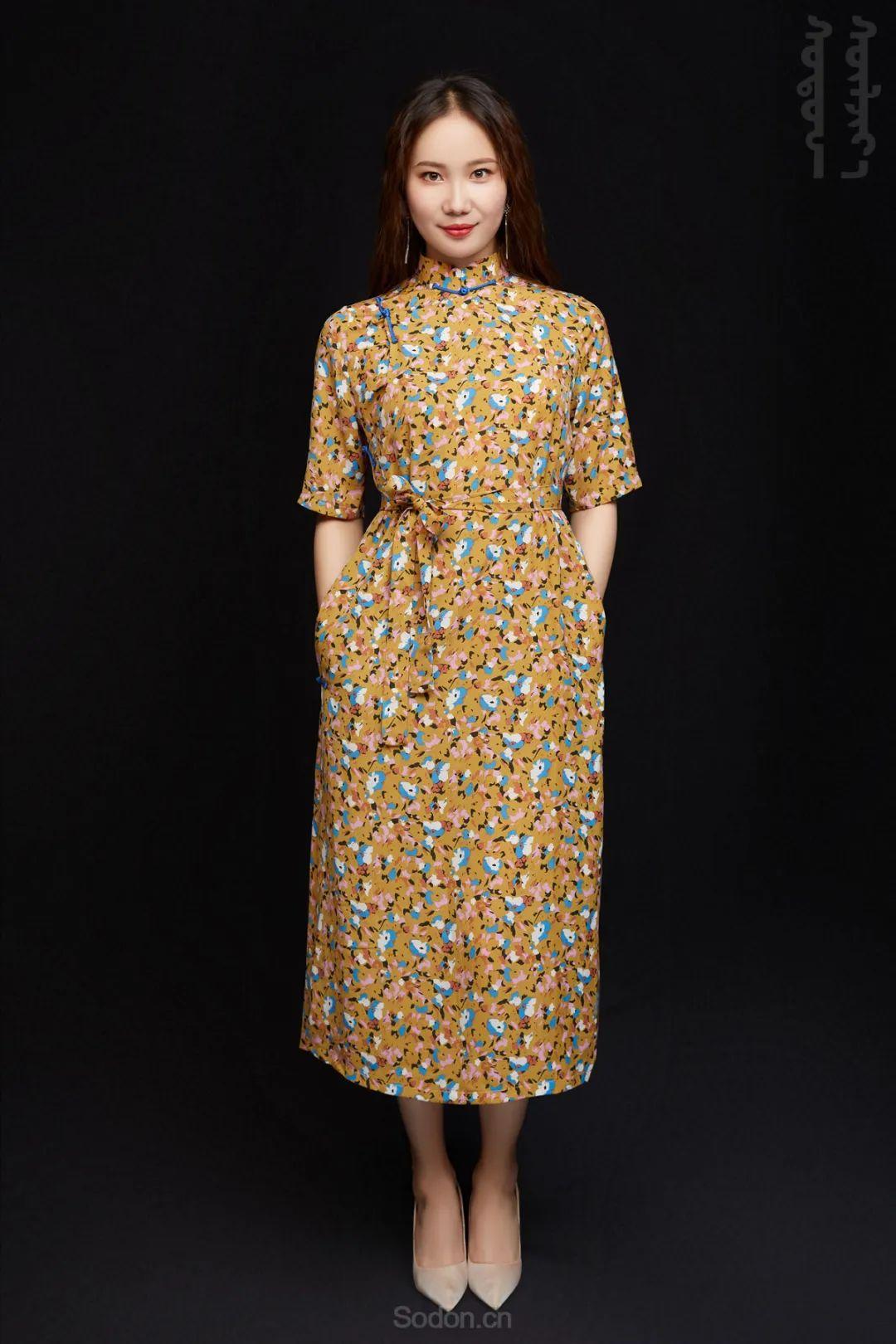 DOMOG蒙古时装2020新款夏季连衣裙首发,618钜惠七折! 第22张