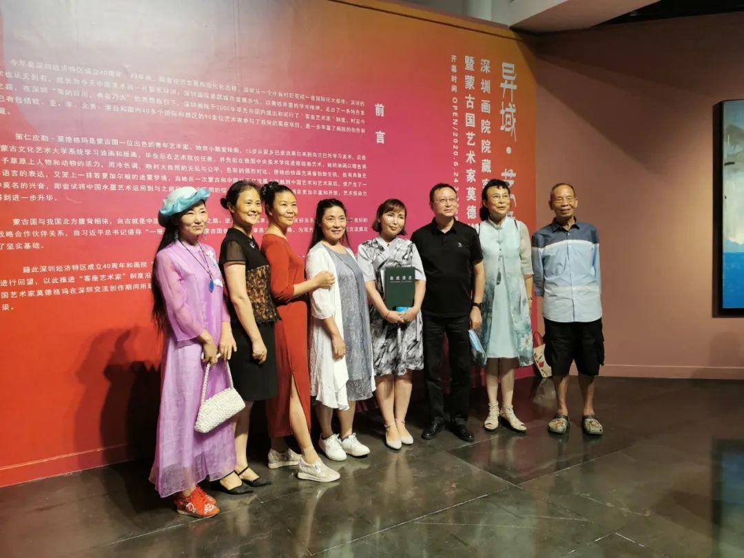 疫情期间蒙古国艺术家莫德格玛在中国创作了80余幅画作 第2张