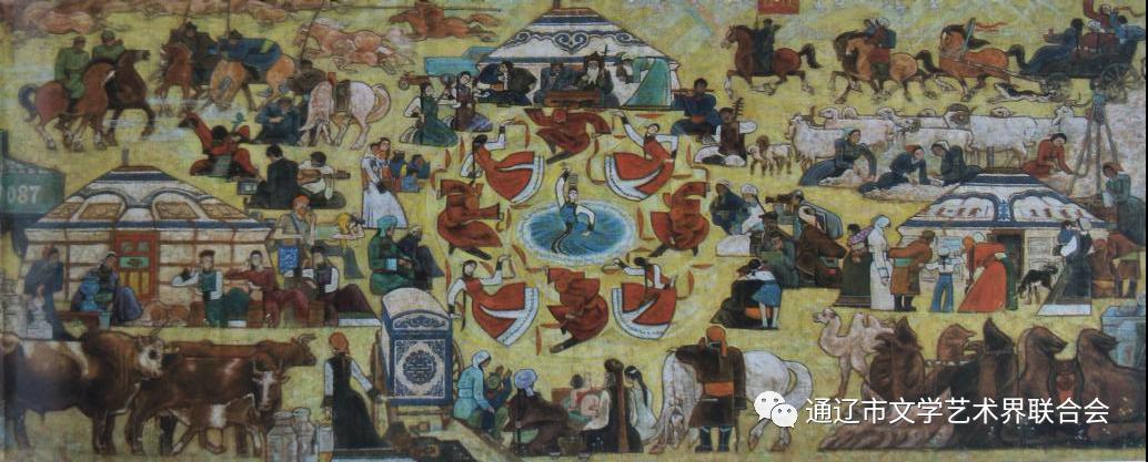 【名家名作】油画家舍冷业西 第7张 【名家名作】油画家舍冷业西 蒙古画廊