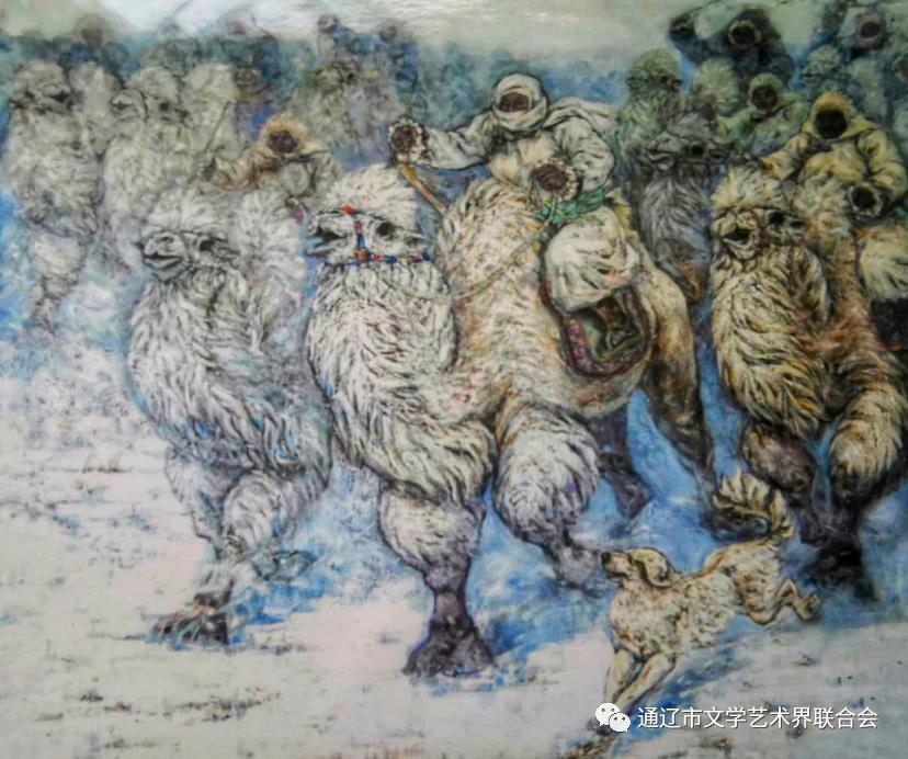 【名家名作】油画家舍冷业西 第22张 【名家名作】油画家舍冷业西 蒙古画廊