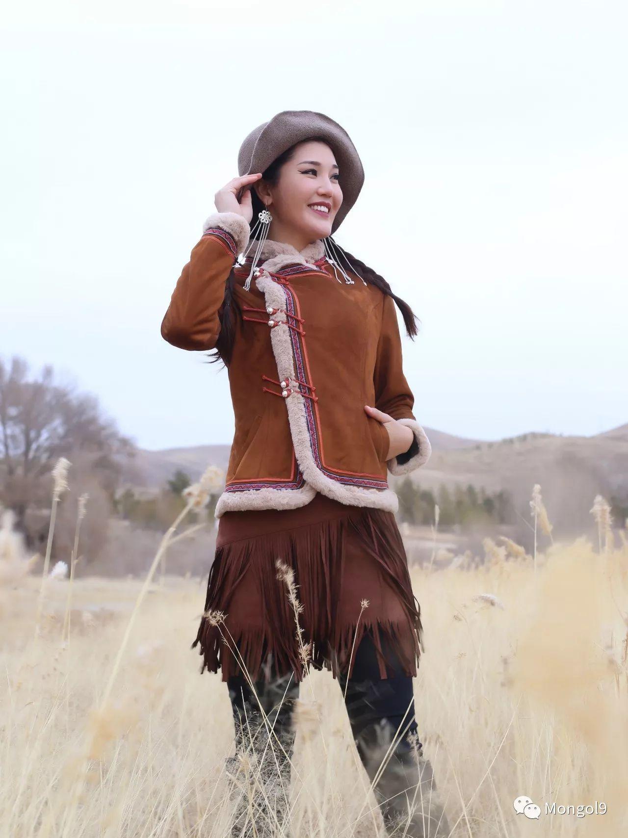 为我的蒙古闺蜜们而设计 第9张