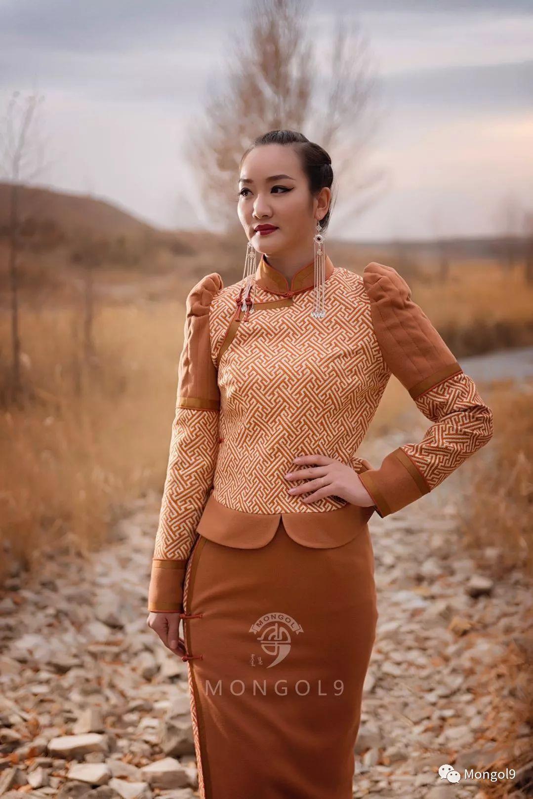 为我的蒙古闺蜜们而设计 第13张