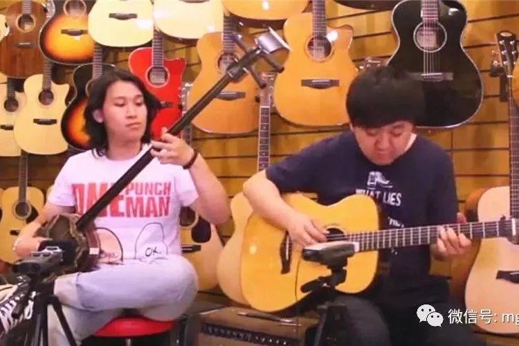三弦丨蒙古国三弦演奏家Undurma--民歌联奏 第2张