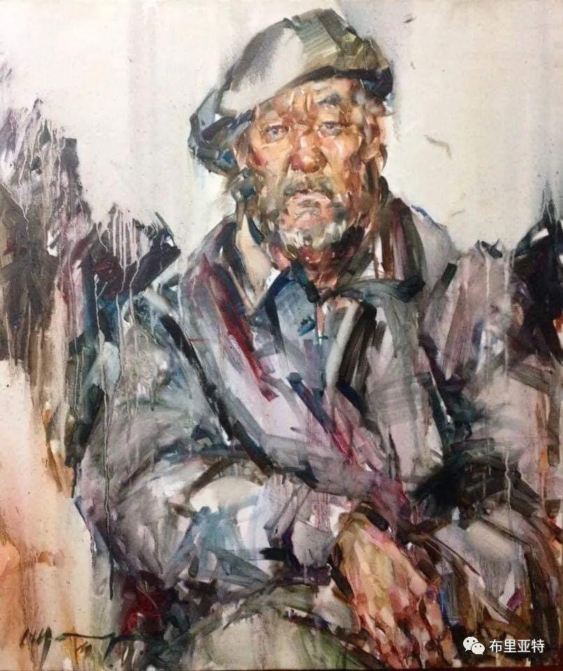 蒙古国少有的水彩画大师孟赫巴特尔作品欣赏 第25张 蒙古国少有的水彩画大师孟赫巴特尔作品欣赏 蒙古画廊