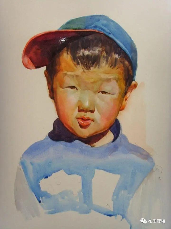 蒙古国少有的水彩画大师孟赫巴特尔作品欣赏 第29张 蒙古国少有的水彩画大师孟赫巴特尔作品欣赏 蒙古画廊
