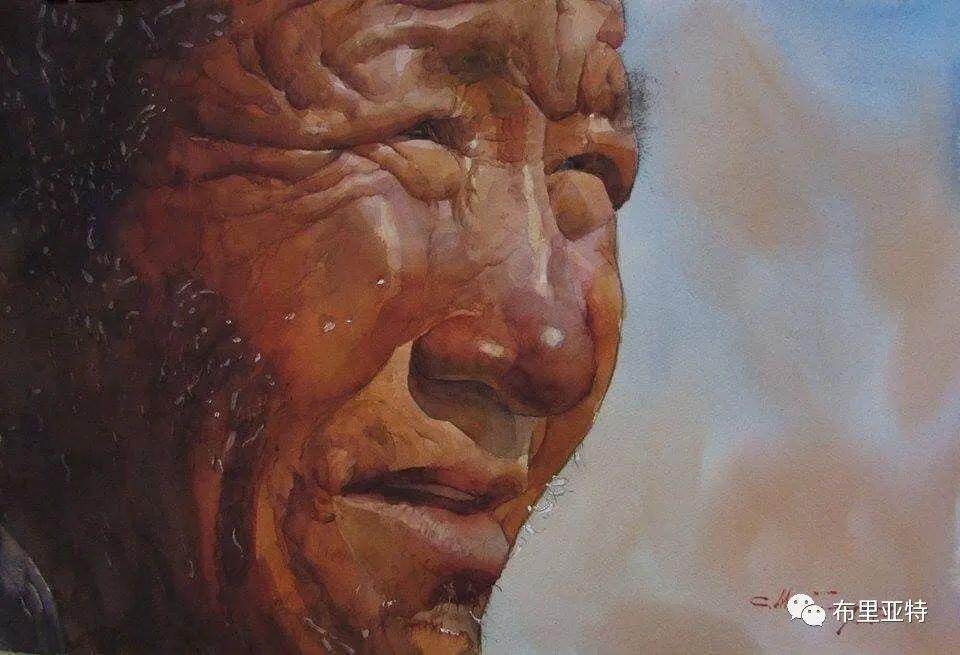 蒙古国少有的水彩画大师孟赫巴特尔作品欣赏 第37张 蒙古国少有的水彩画大师孟赫巴特尔作品欣赏 蒙古画廊