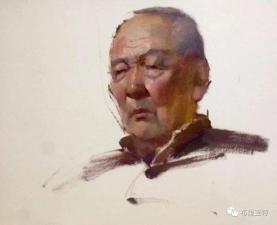 蒙古国少有的水彩画大师孟赫巴特尔作品欣赏 第42张 蒙古国少有的水彩画大师孟赫巴特尔作品欣赏 蒙古画廊