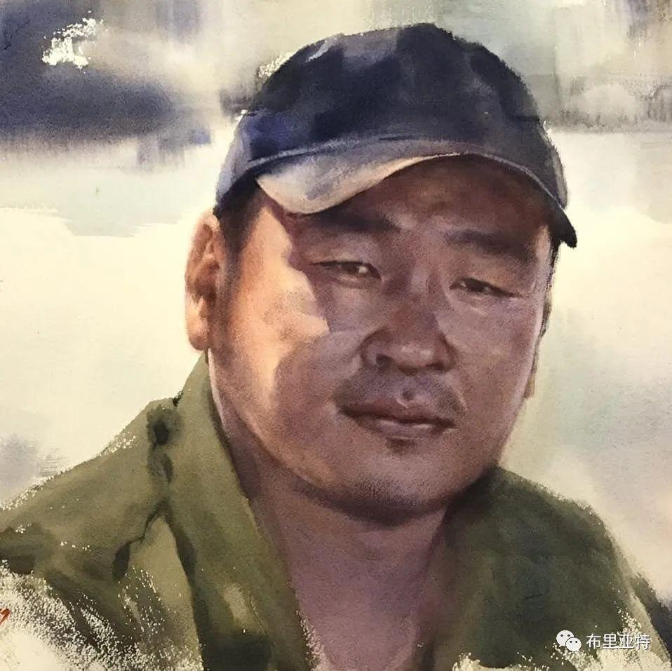 蒙古国少有的水彩画大师孟赫巴特尔作品欣赏 第50张 蒙古国少有的水彩画大师孟赫巴特尔作品欣赏 蒙古画廊